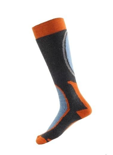Panthzer  Ski & Snowboard Socks Turuncu/Siyah Renkli